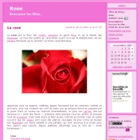 Rose pour les filles..